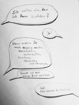 Dialog Storytelling