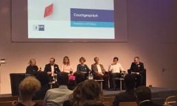 Katrin Kuch im Panel des Agenturgipfels 2018