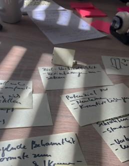 Brainstorming Prozess