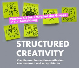 Structured Creativity Gruppe auf meetup.com